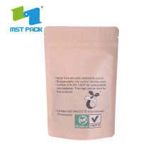 Printing Flat Bottom Biodegradable Compostable Bag