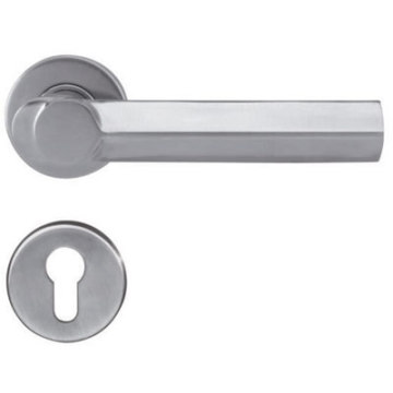 Stainless Steel Lever Steel Gate Door Handle