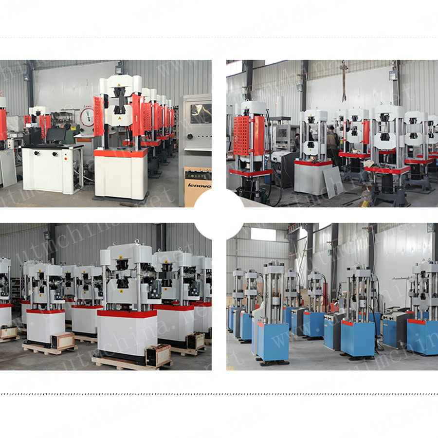 Hydraulic Pc Servo Universal Testing Machine
