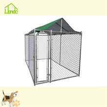 Factory direct large welded pet dog kennel cages with cover