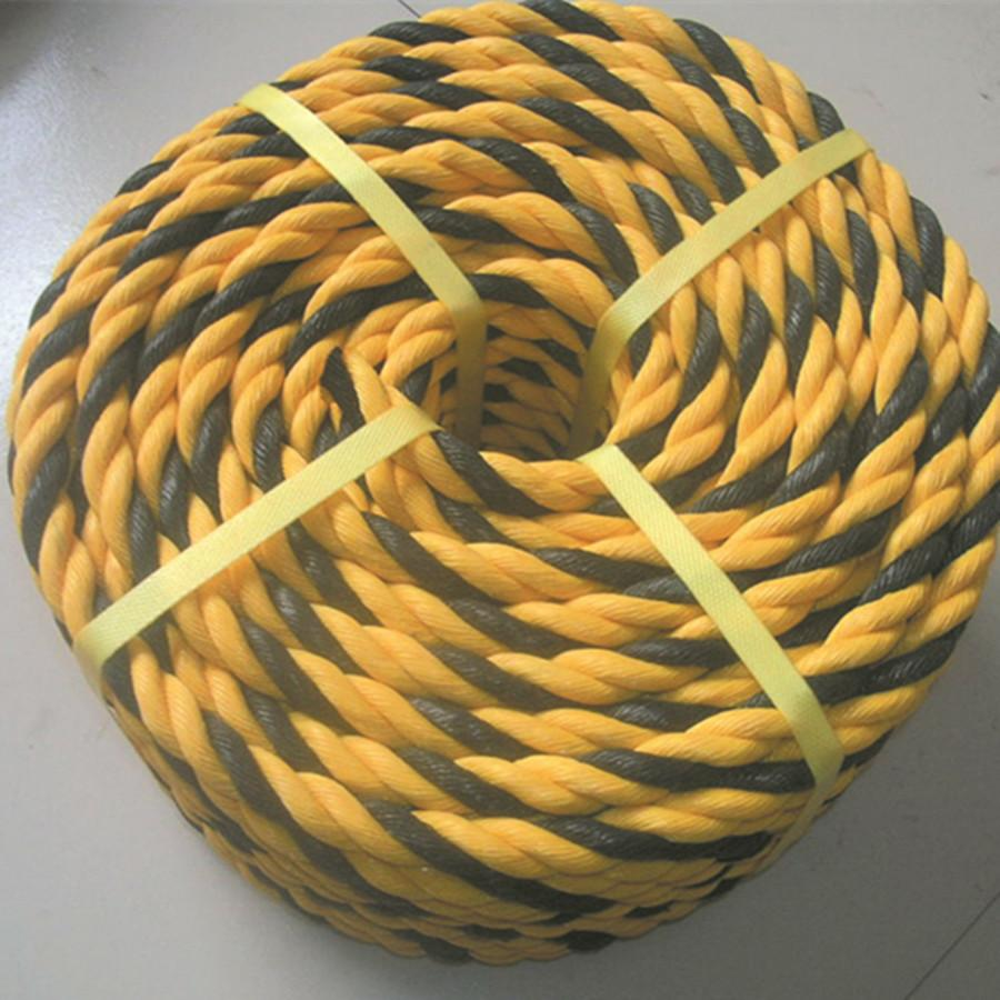 3-strands polyethylene tiger rope