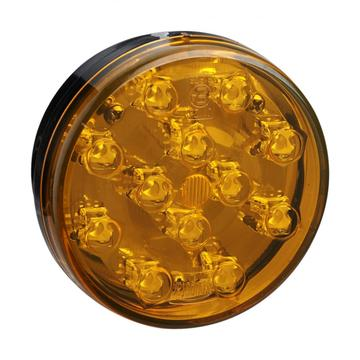 E4 Amber Round Truck Indicator Tail Lights