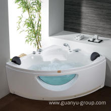 Sector Double Person Freestanding Massage Bathtub