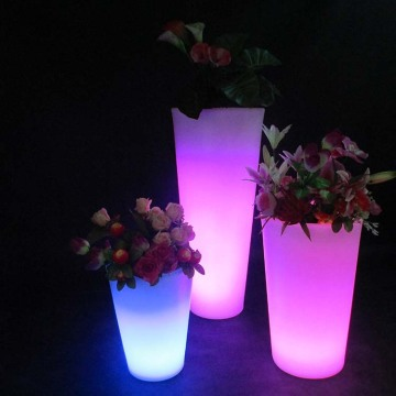 LED RGB Flower Pot with Different Size