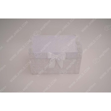 Lace bow bow storage box