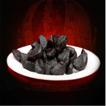 Seasoning or snack black garlic