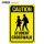 reflective sheeting for road caution safety sign
