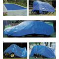 COLOR STRIPE PE TARPAULIN WITH EYELET