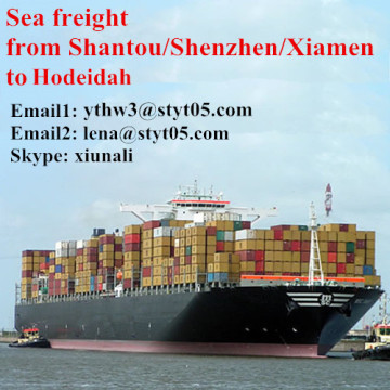 Shipping from Shantou to Hodeidah Yemen