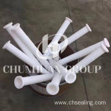 Wholesale Price for Industrial PTFE Parts Customized PTFE/Teflon Parts For Industry as Drawing supply to Morocco Factory