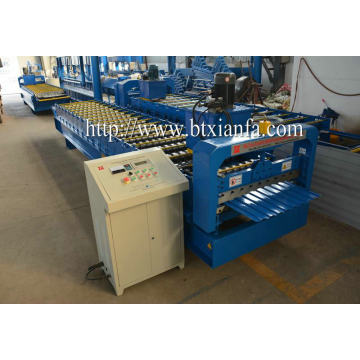 aluminum rolling shutter door machine