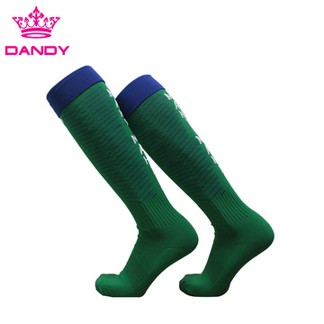 Green Soccer Teams Mens Ankle Socks