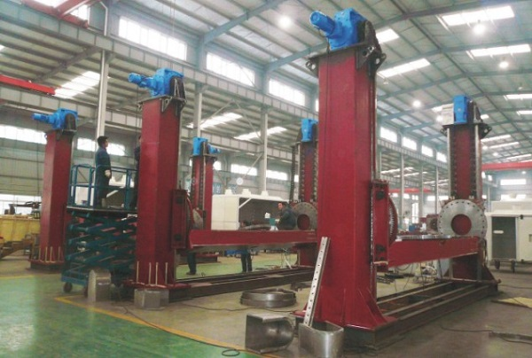 Hbs Series Double Column Chain Type Welding Positioner