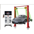 Wheel Alignment with Remote Control Function