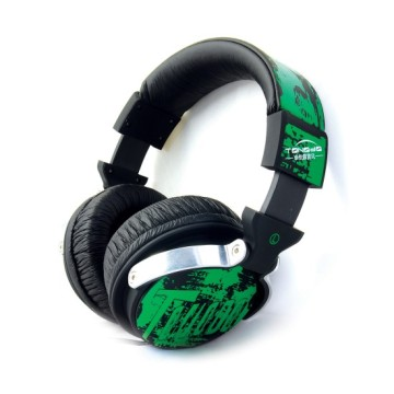 Professional DJ Headphone Earphone With Microphone