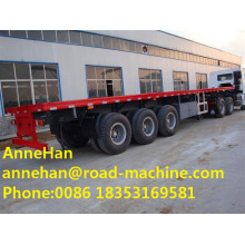 Customized for Skeleton Semi Trailer Container Carrying Flatbed Semi Trailer Truck Sinotruk Cimc supply to China Factories