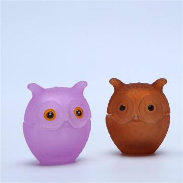 Purchasing for Chocolate Jars Owl Shaped Glass Candy Jars Colorful Glass supply to United States Manufacturer