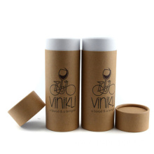 Useful Kraft Paper Can Round Tube Gift Box