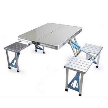 ALUMINUM COLORFUL OUTDOOR PICNIC TABLE