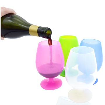Good Quality Silicone Tableware Silicone wine Cup