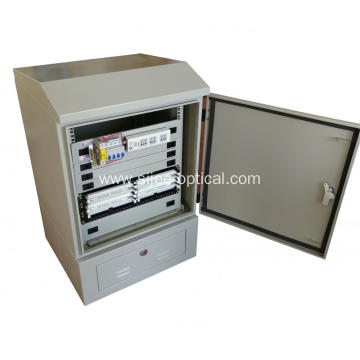 "19"" Rack Outdoor Telecom Cabinet Base Station Enclosure"