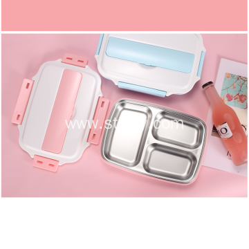 304 Stainless Steel Large-Capacity  Student Lunch Box