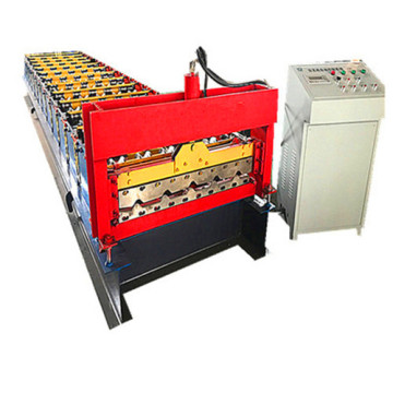 trapezoid iron roofing sheet roll forming making machine