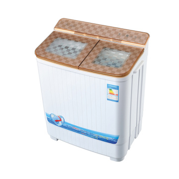 Gold Glass Cover 4KG Washer And Dryer
