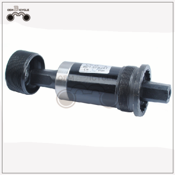 Bicycle bottom bracket with waterproof screw Square hole bike bottom bracket