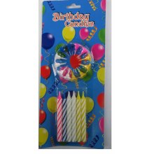 Excellent quality for Colorful Spiral Candles 0.5*10cm spiral birthday cake candle export to United States Suppliers