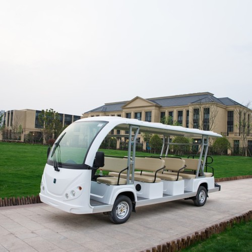 gas powered 14 passenger shuttle bus