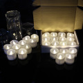 Set of 12 Remote Controlled Votive Led Candles