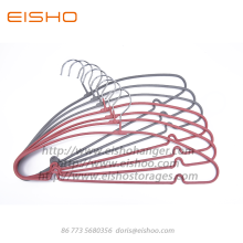 Online Exporter for Metal Coat Hangers,Pvc Coated Hangers,Gold Metal Hangers Manufacturer in China EISHO PVC Coated Slip-Resistant Hanger export to United States Exporter