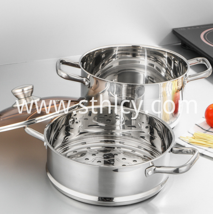 Stainless Steel Steamer Pot11