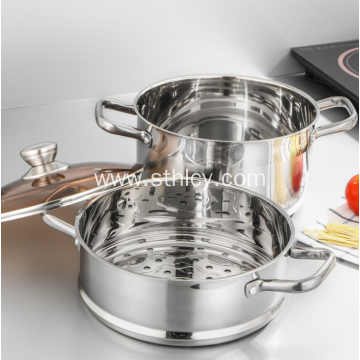 ECO Friendly Stainless Steel Multifunctional Steamer Pot