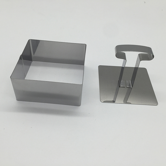 Stainless Steel Rectangle Shape Cake Mould 3