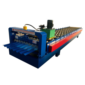 Big Peak Height Corrugated Metal Sheet Forming Machine
