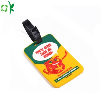 Hot Sale Soft PVC Customized Cartoon Buggage Tag