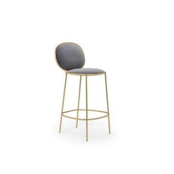 Replica golden Stay bar stool by Nika Zupanc