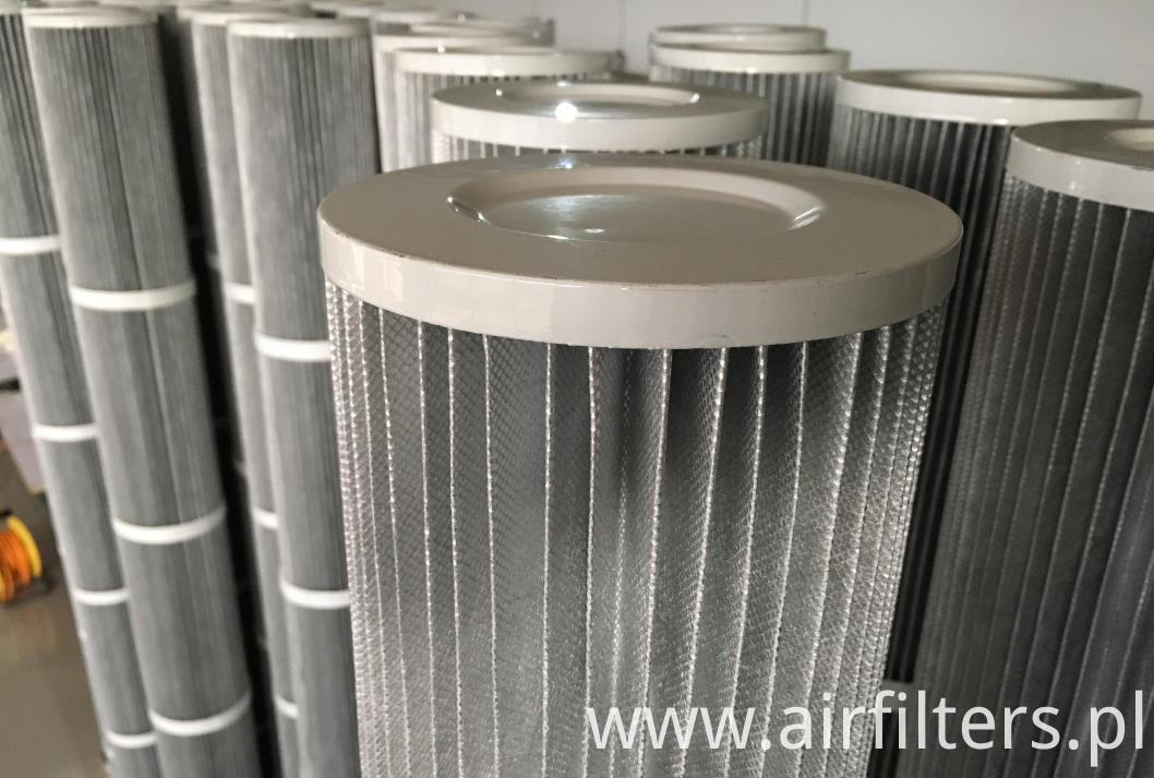 Antistatic filter element9
