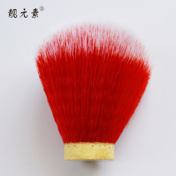 Colorful barber shaving brush