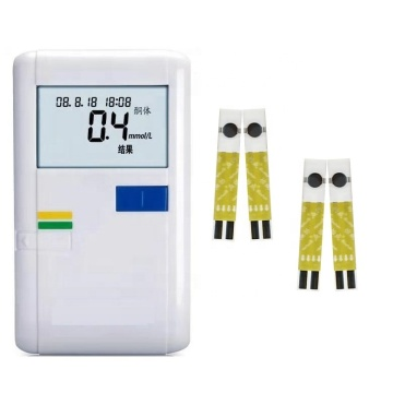 Blood Ketone Meter With Ketone Strips