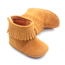 Snow Warm Baby Boots Leather Baby Shoes