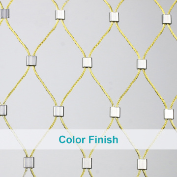 Stainless Steel Flexible Cable Rope Netting
