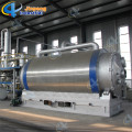 Mini 10kg-1T Mobile Plastic Tire Pyrolysis Plant To Diesel Installed In Container