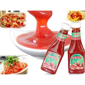 Tomato Ketchup in Bottles