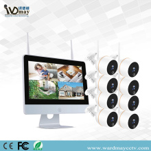 8CH 2.0MP WIFI NVR Kits with Touch Screen