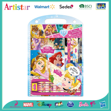 Disney Princess 12-piece blister card set