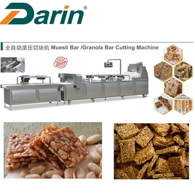 Sesame Peanut Candy Bar Forming Cutting Machine