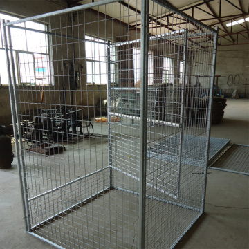 Large outdoor high quality galvanized dog cages